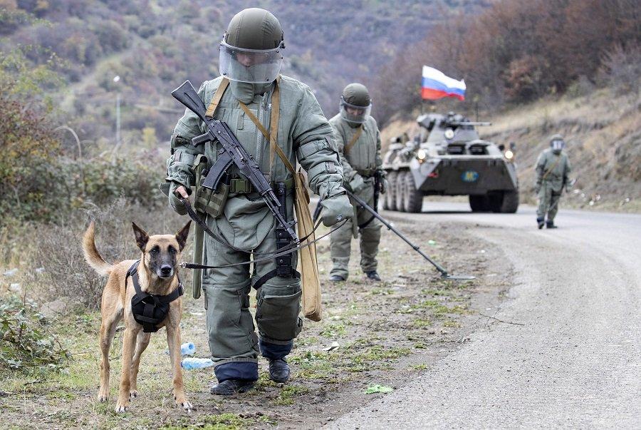 Российские саперы помогут разминировать Нагорный Карабах