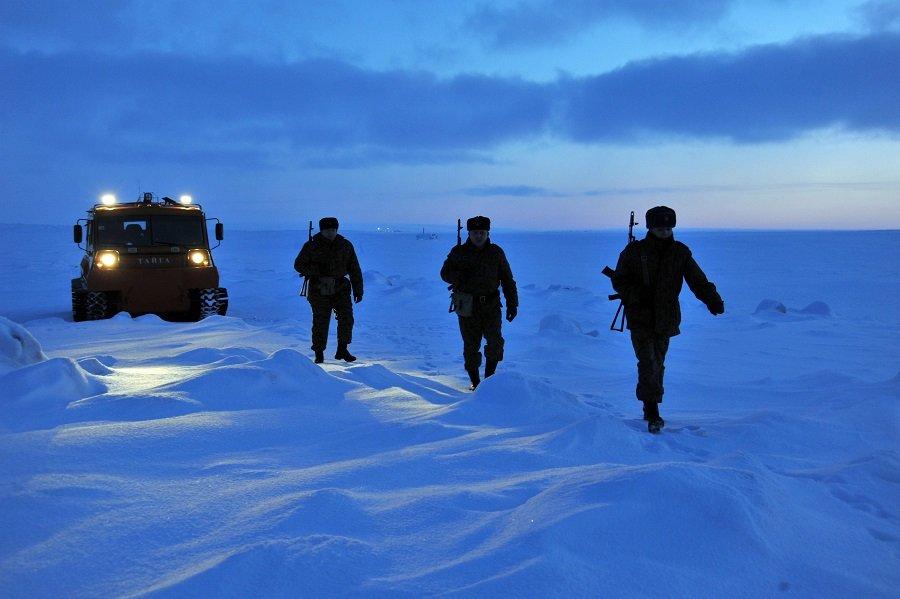 На страже северных рубежей