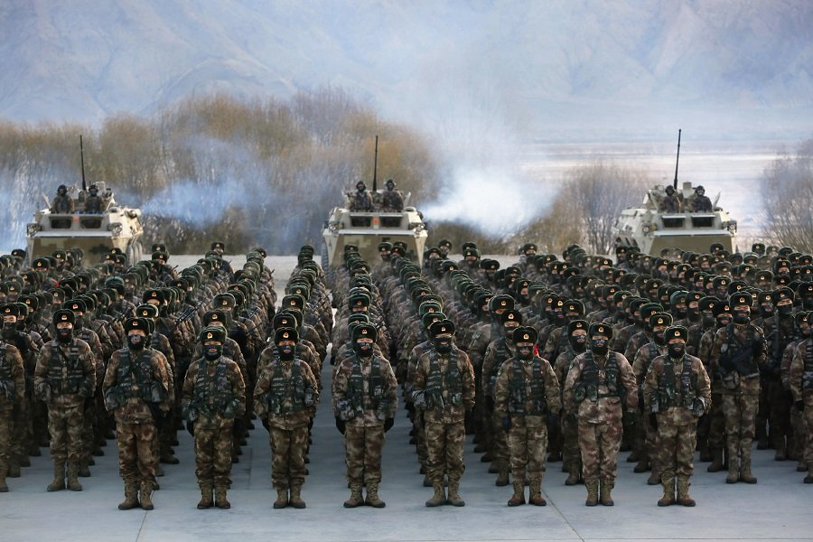 Китай готовится к войне?