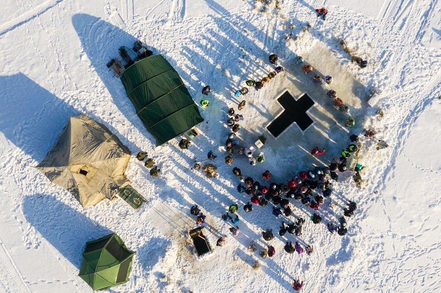 Армия России встречает Крещение Господне