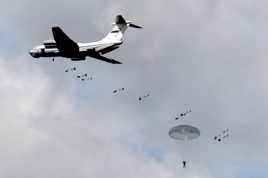 «Крылатая пехота» России продемонстрирует мощь и мобильность