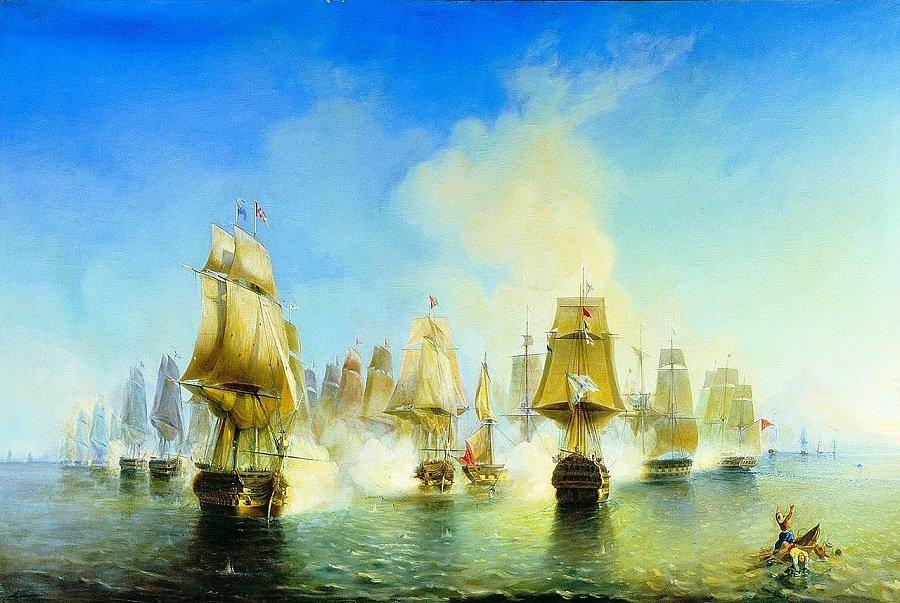 Успех Второй Архипелагской экспедиции: взятие крепости на острове Тенедос