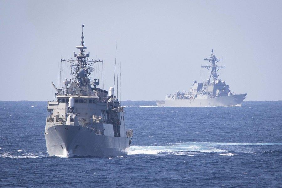 На морском щите: Запад устраивает вторые подряд учения в акватории Черного моря