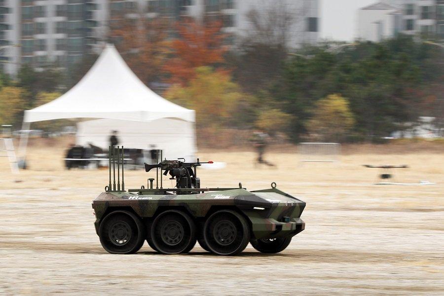 Боевые роботы Франции вступают в дело