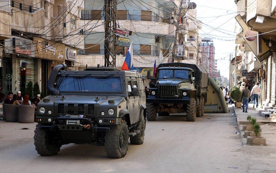 Россия ввела военный контингент на север Сирии