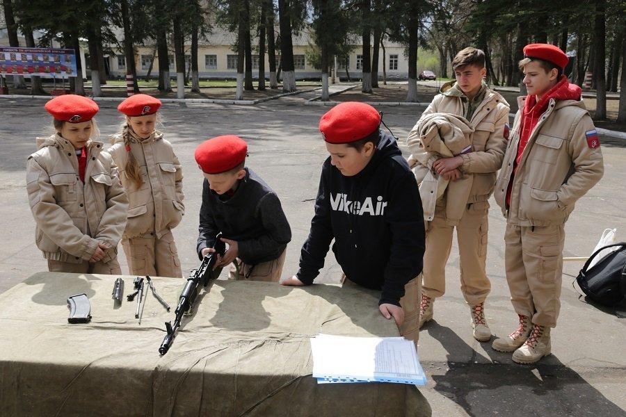 В Коломне прошла военно-патриотическая игра: «Юнармия, Вперед!»