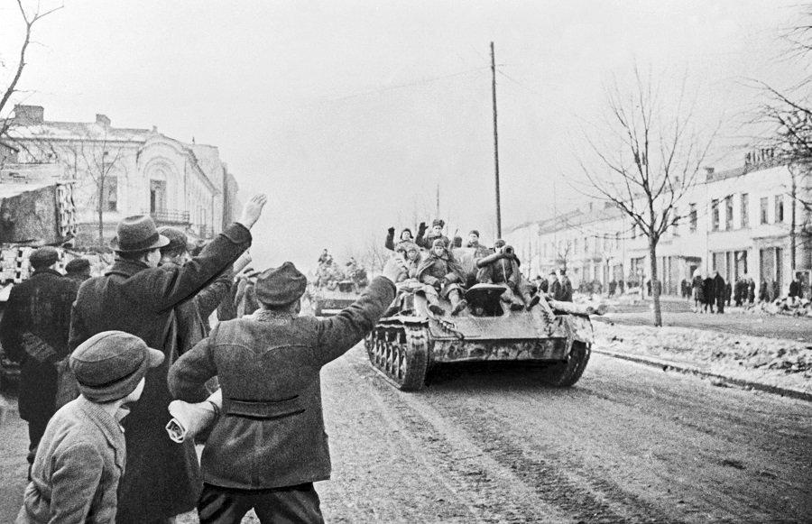 Советская кровь за свободу Польши