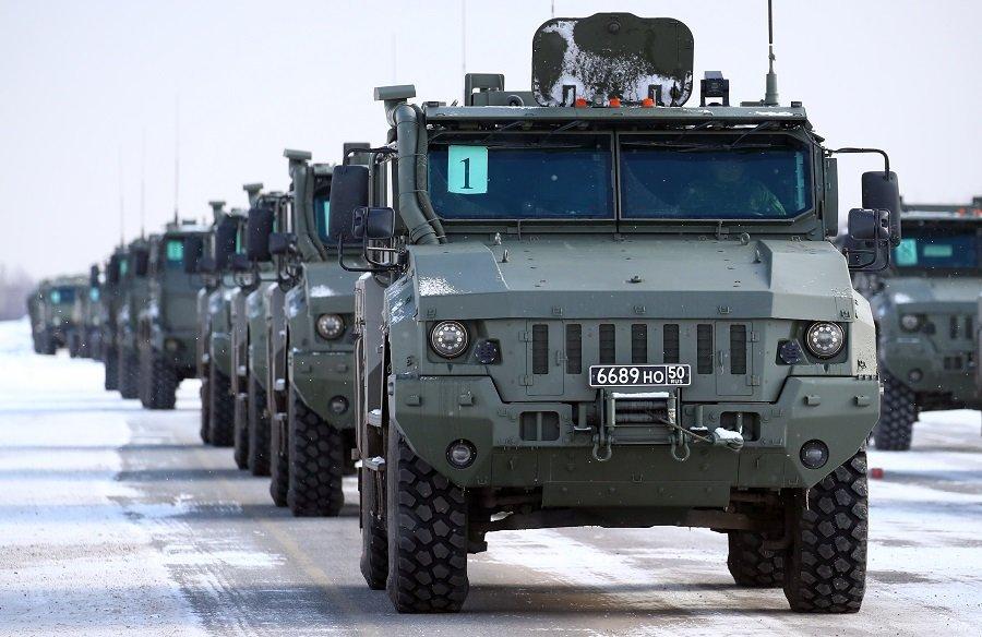 Крылатая пехота обзаведется собственным «Тайфуном»