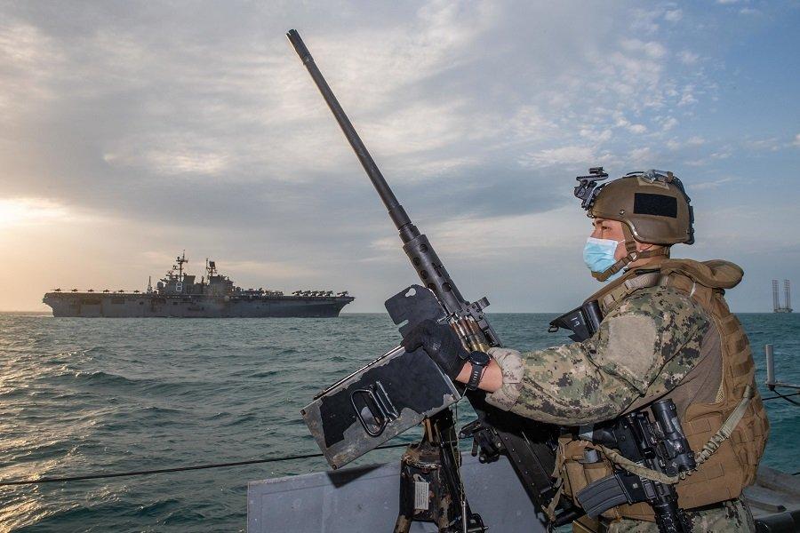 Американский флот готовится дать бой
