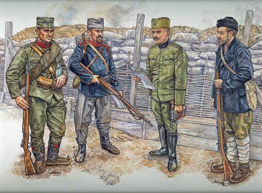 Как зарождалась сербская военная форма – от национальной одежды до реформ короля Петра I Карагеоргиевича