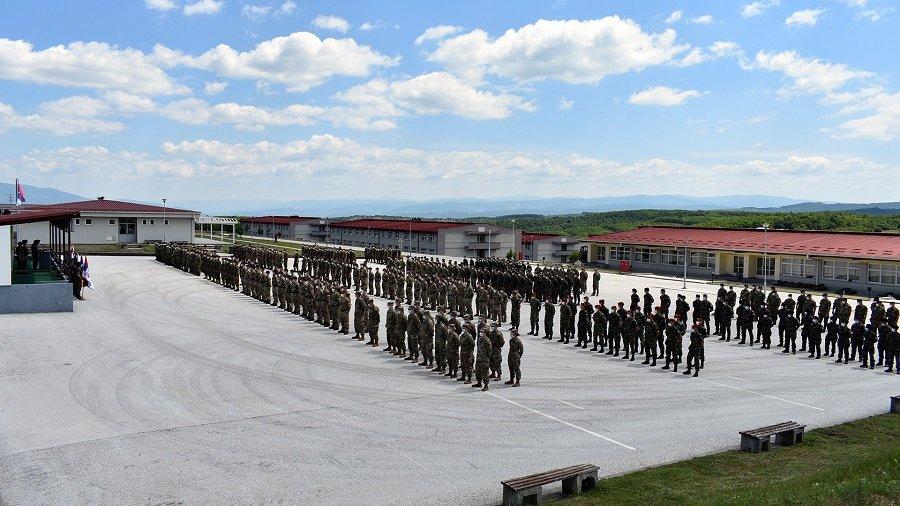 Сербские солдаты на учениях рядом с армиями НАТО — неприглядная «многовекторность» президента Вучича