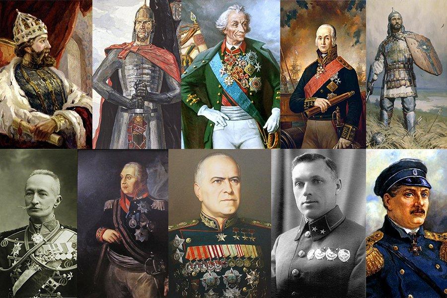 Топ-10 великих русских полководцев