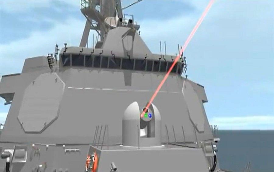 Лазерное оружие: Франция объявила о морских испытаниях противодронного лазера в 2022 году. ВМС США рассчитывают получить самый мощный лазер в мире