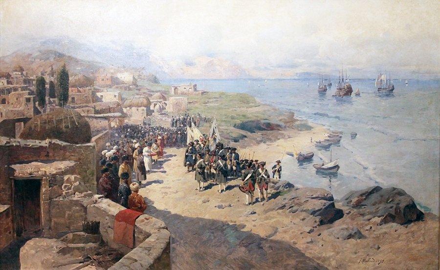 Персидский поход Петра I — как русские войска покоряли Каспийское побережье