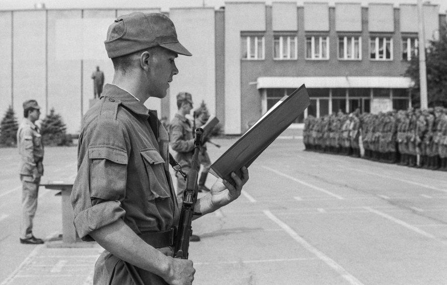 Вооружённые силы Приднестровской молдавской республики отмечают тридцатилетие