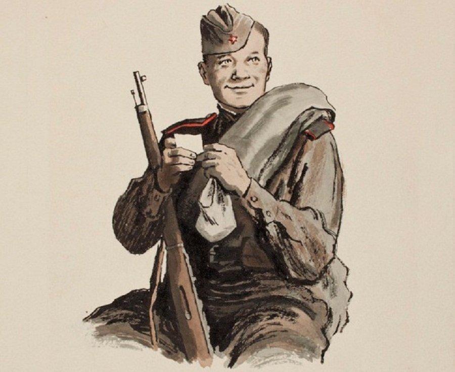 Ироничный образ солдата на войне в отечественной и зарубежной литературе